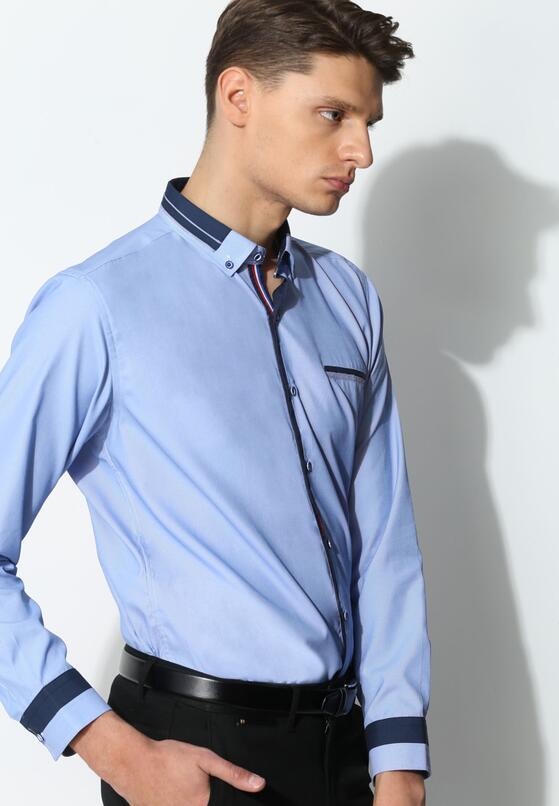 Niebieska Koszula Modern Class