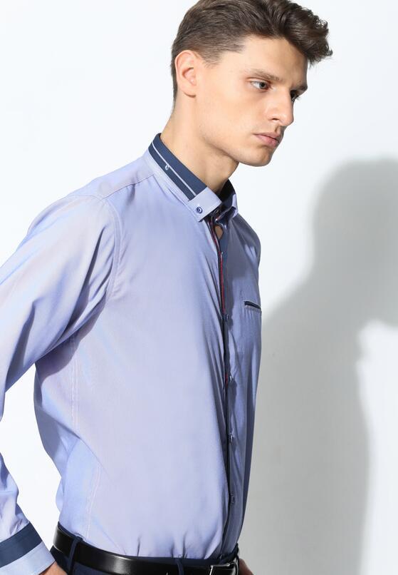 Ciemnoniebieska Koszula Modern Class