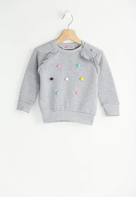 Szara Bluza Colourful Dots