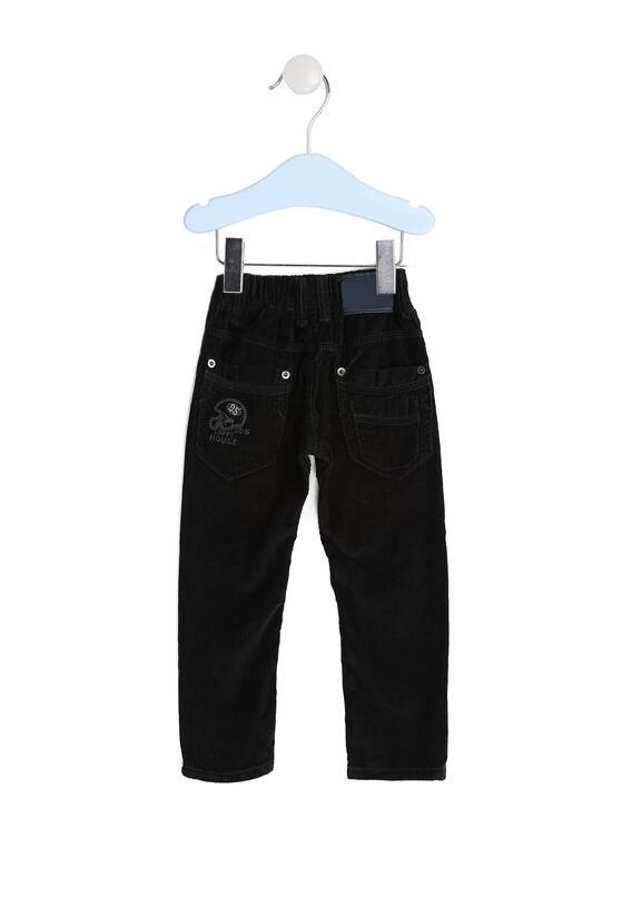 Czarne Spodnie Casual Kid