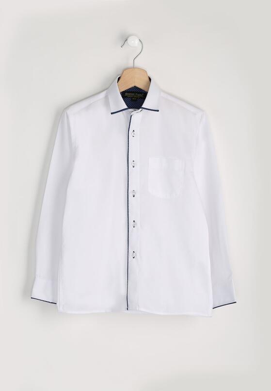 Biało-Granatowa Koszula Primer