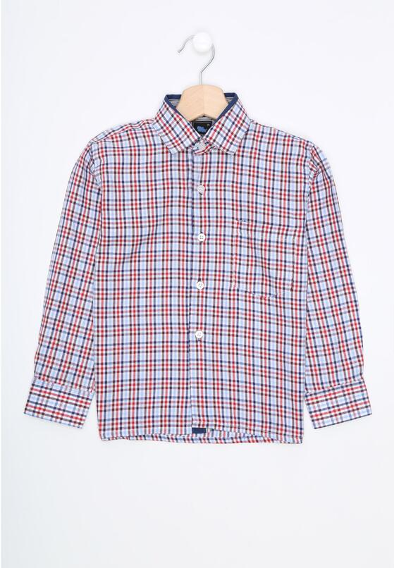 Czerwono-Niebieska Koszula Consider