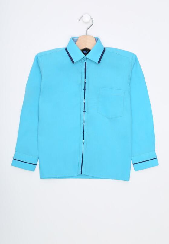 Niebieska Koszula Perform