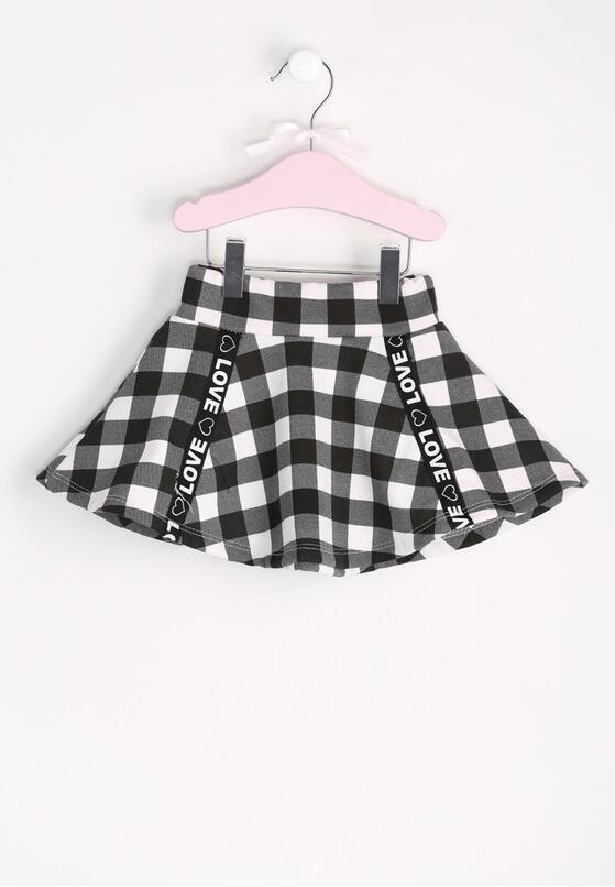 Czarno-Biała Spódnica Loveless
