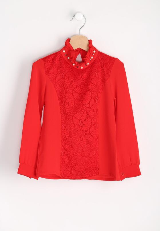 Czerwona Bluzka Precious