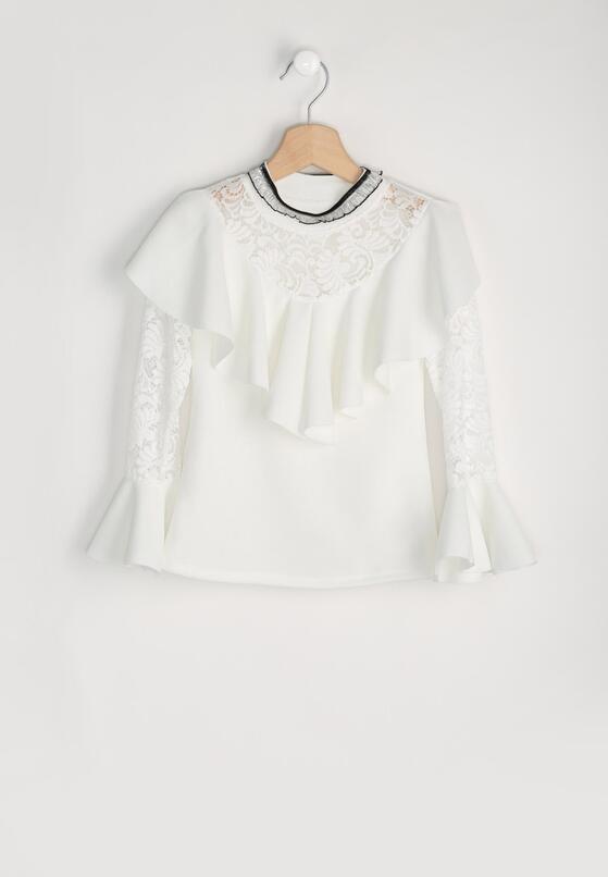 Biała Bluzka Necklace