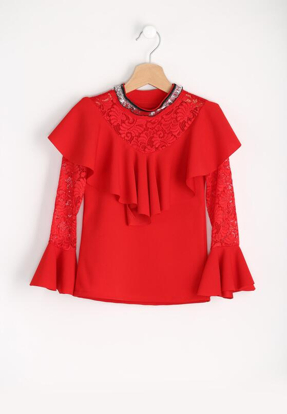 Czerwona Bluzka Necklace