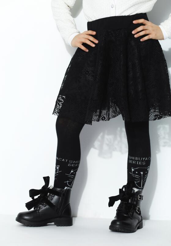 Czarna Spódnica Waving