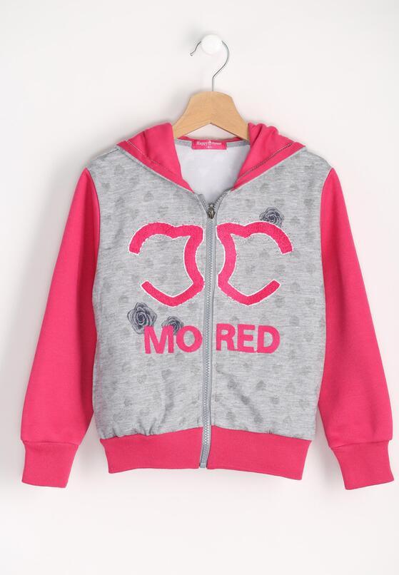 Szaro-Różowa Bluza Moreover
