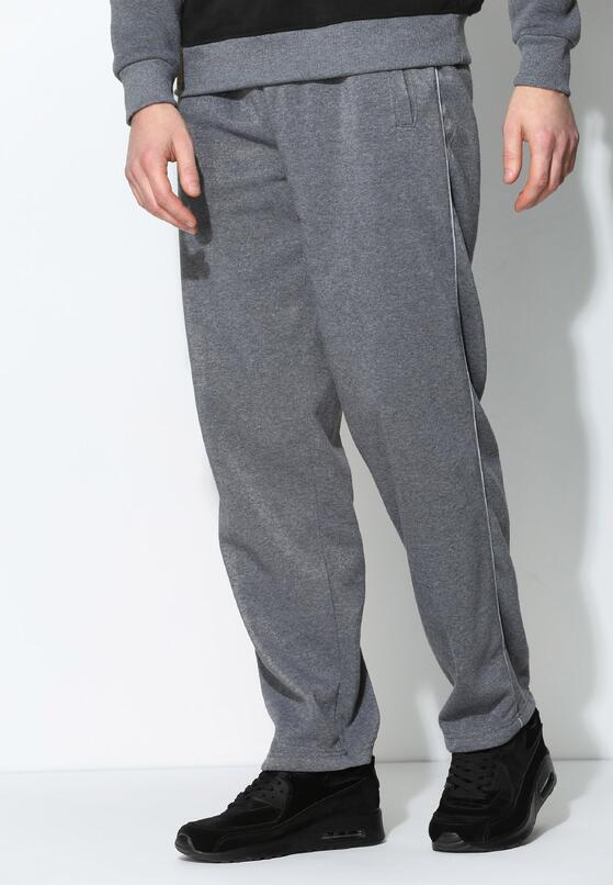 Szare Spodnie Dresowe Thin Line