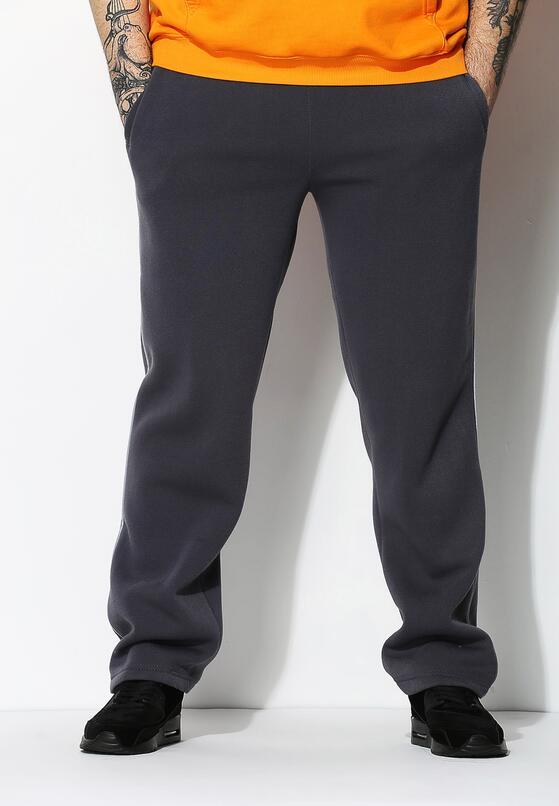 Ciemnoszare Spodnie Dresowe Thin Line