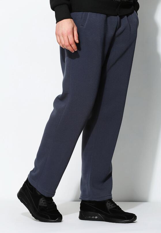 Ciemnoniebieskie Spodnie Dresowe First Quality