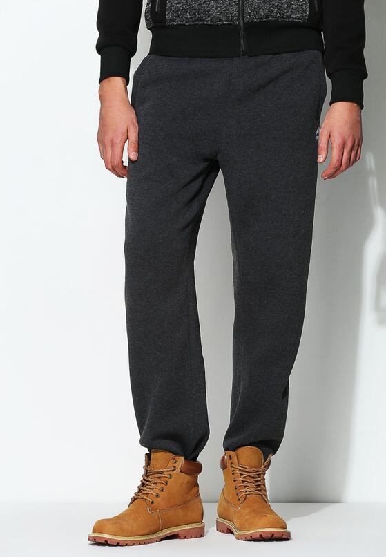 Ciemnoszare Spodnie Dresowe First Quality