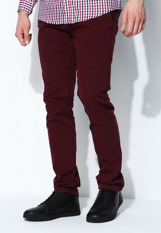 Bordowe Spodnie Display