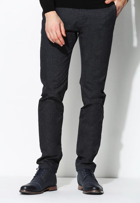 Ciemnoszare Spodnie Smart Fit