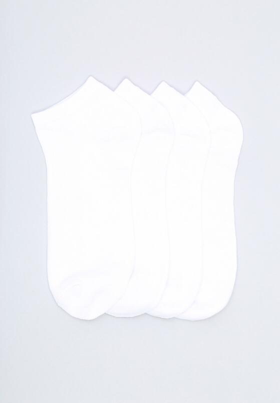 12-pack Białych Skarpetek Unruled