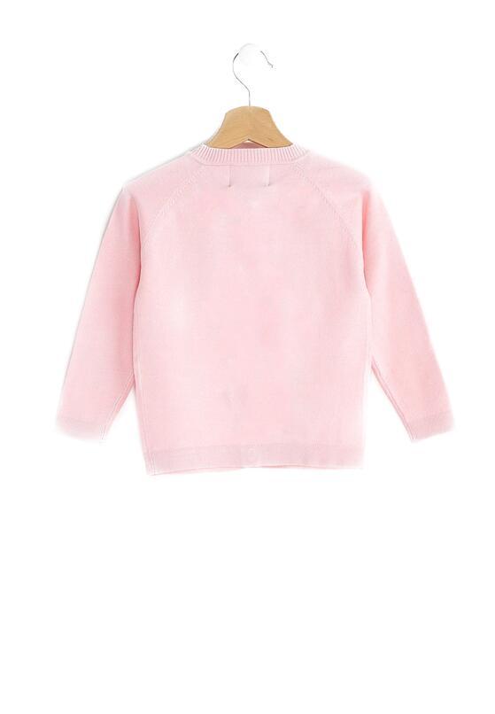 Różowy Sweterek Sweet Beads