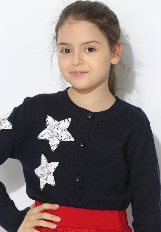 Granatowy Sweterek Stars And Me