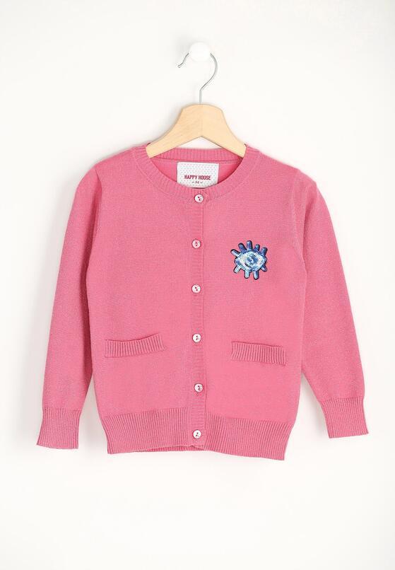 Różowy Sweterek Loop