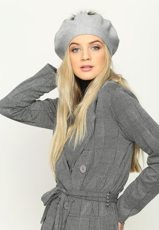 Szary Beret French Classic