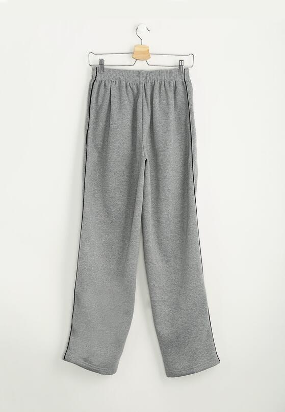 Jasnoszare Spodnie Dresowe Thin Line