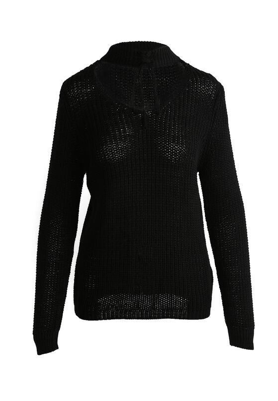 Czarny Sweter Entail