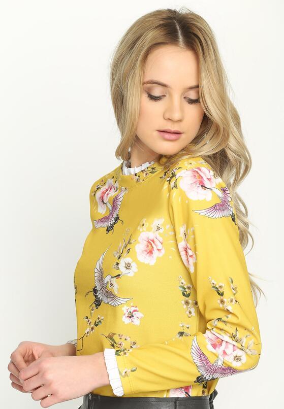 Żółta Bluzka Flowery