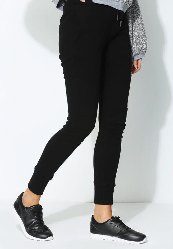 Czarne Spodnie Perpend