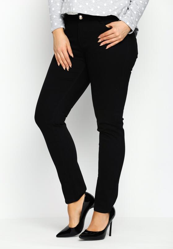 Czarne Spodnie On Point