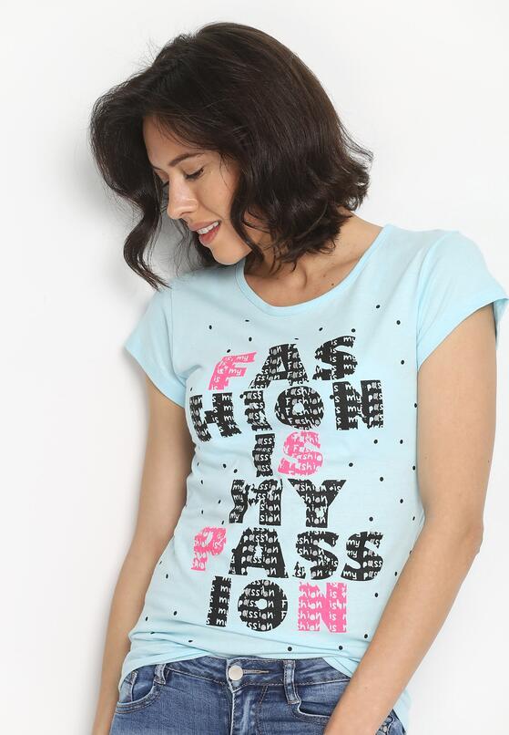 Niebieski T-shirt Catch On