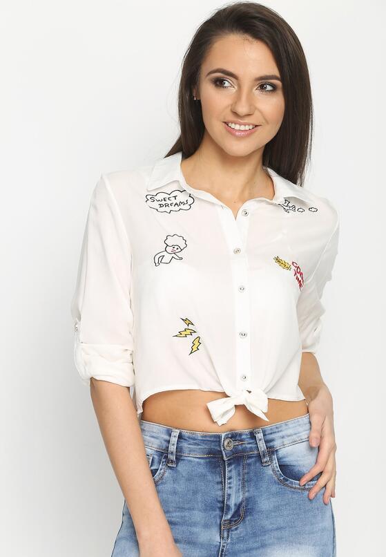 Biała Koszula Caper