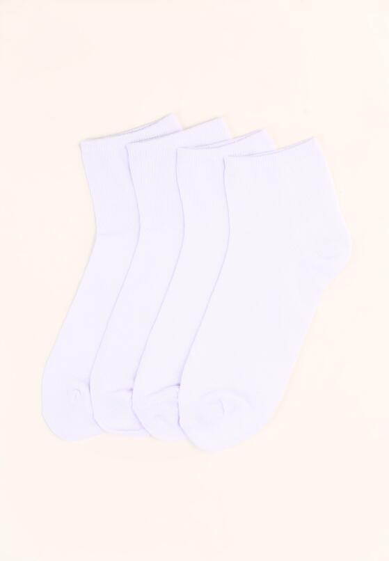 10-pack Białych Skarpetek Ravish