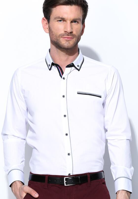 Biało-Czarna Koszula Heavily