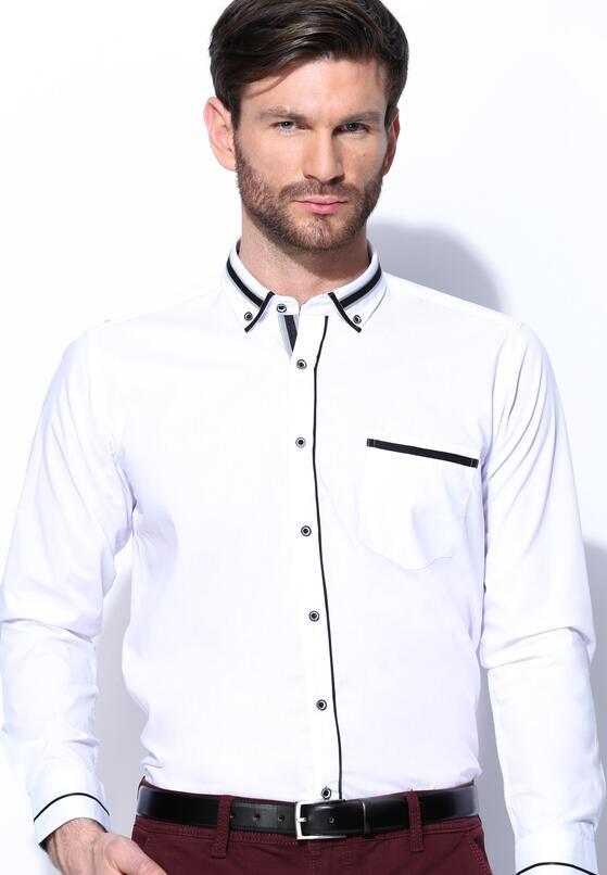 Biało-Czarna Koszula High Spirits