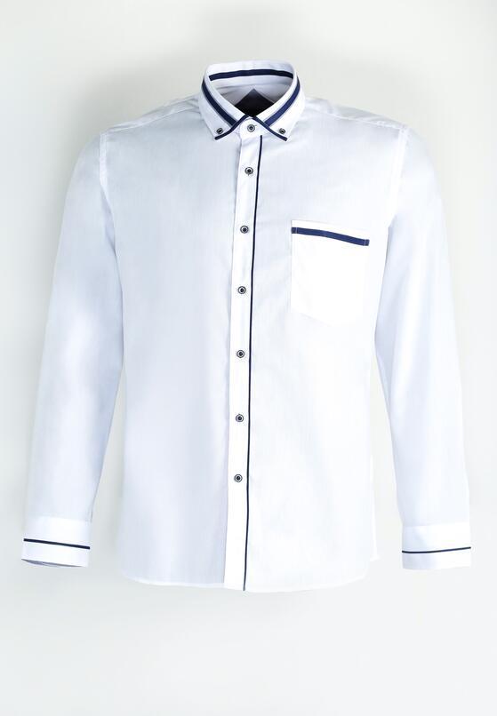 Granatowo-Biała Koszula High Spirits