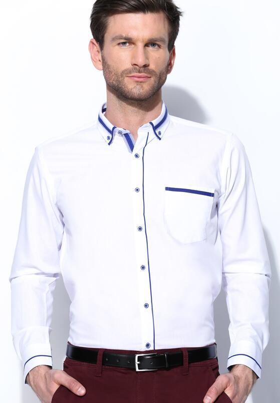 Biało-Niebieska Koszula High Spirits