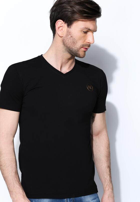 Czarna Koszulka Muscular