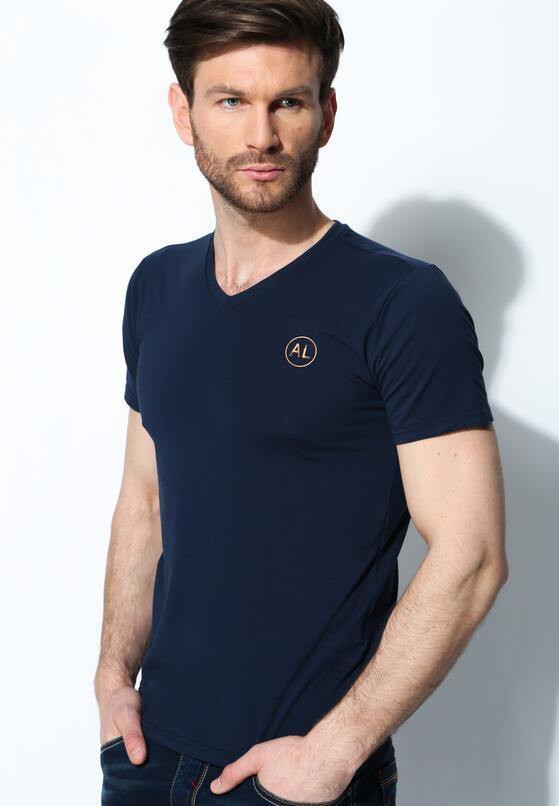 Granatowa Koszulka Muscular