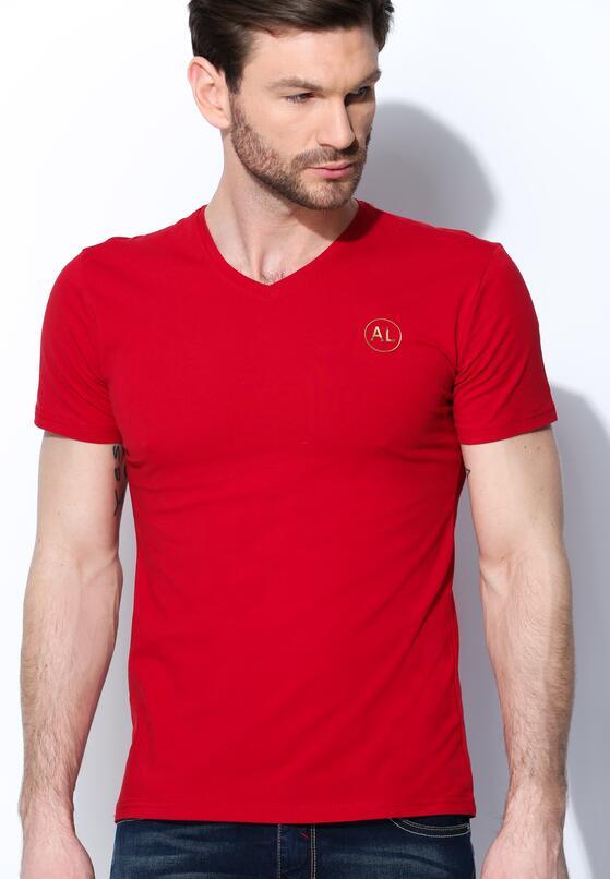 Czerwona Koszulka Muscular