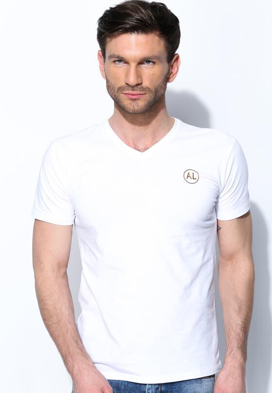 Biała Koszulka Muscular