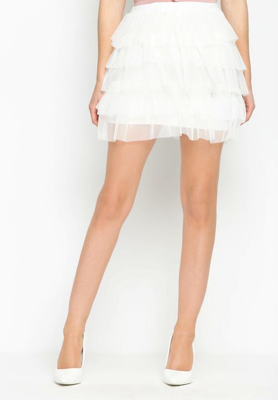Biała Spódnica Primadonna