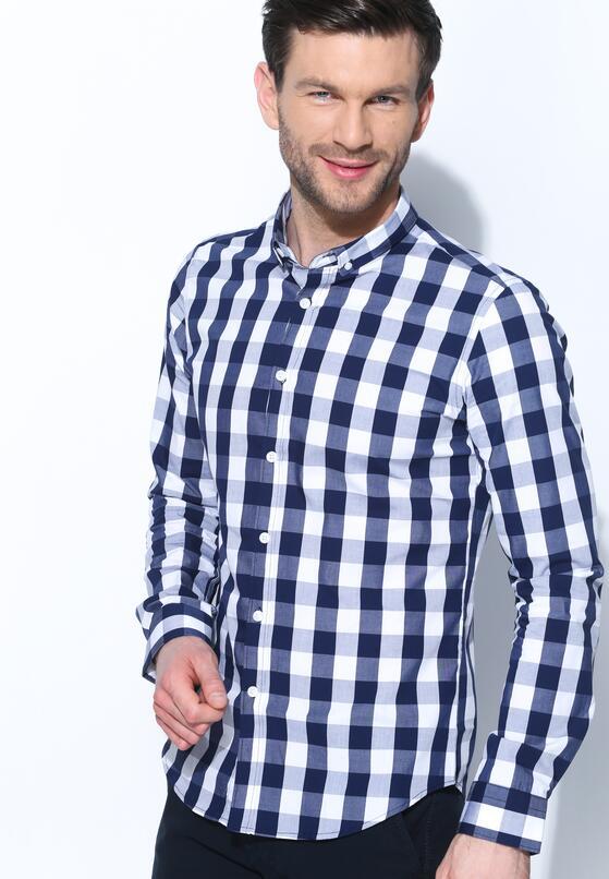 Granatowa Koszula Hard Look