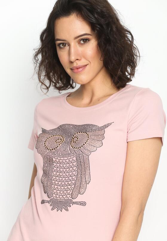Różowa Tunika Typical Owls