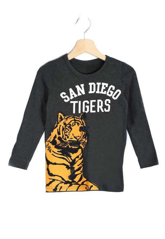 Ciemnoszara Koszulka San Diego
