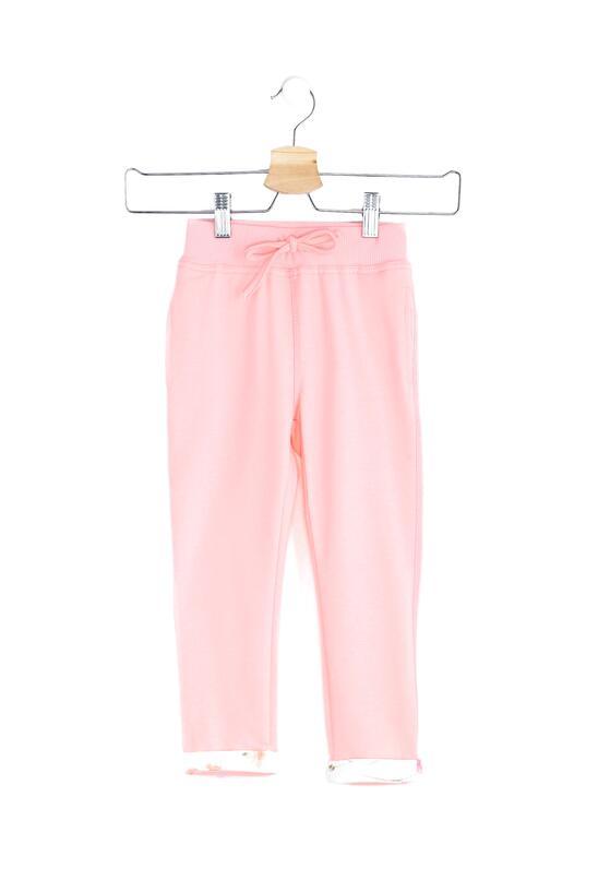 Różowe Spodnie Dresowe Pinup