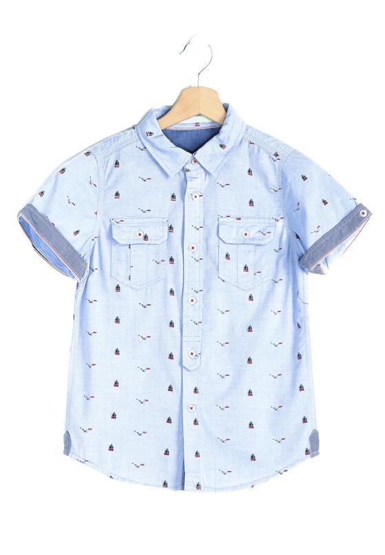 Niebieska Koszula Seafarer