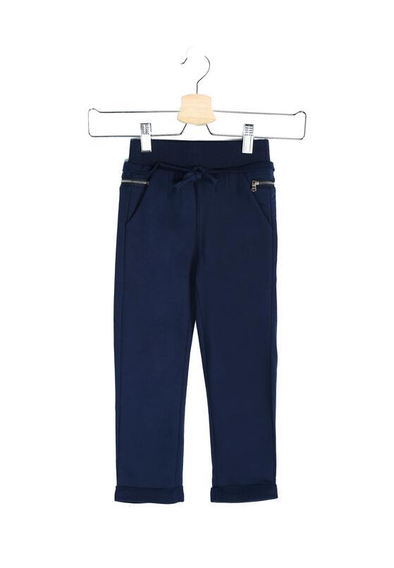 Granatowe Spodnie Dresowe Sandlot