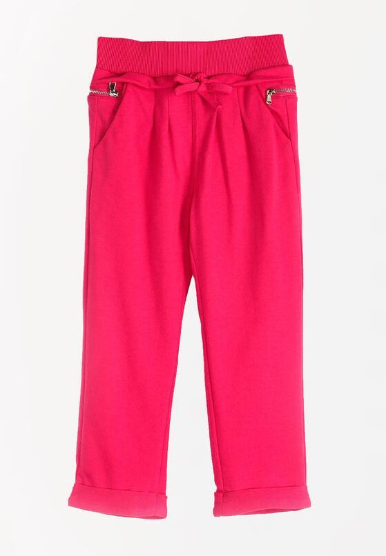 Fuksjowe Spodnie Dresowe Sandlot