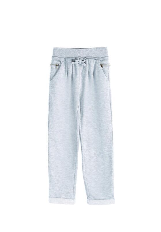 Szare Spodnie Dresowe Sandlot