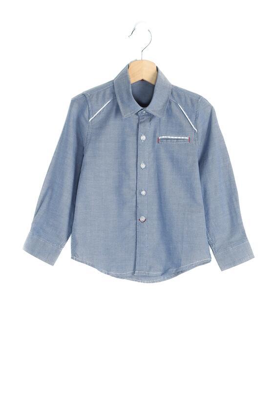 Granatowa Koszula Cavalero